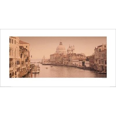 Art Group Canal Grande, Venice by Rod Edwards Photographic Print