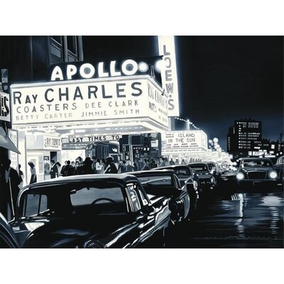 Art Group Ray Charles Apollo by Alain Bertrand Canvas Wall Art