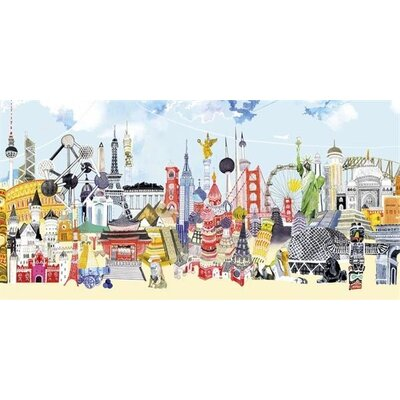 Art Group China London by Hennie Haworth Canvas Wall Art