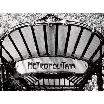 Art Group Metro Entrance, Paris by Heiko Lanio Canvas Wall Art