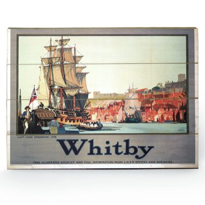 Art Group Whitby Vintage Advertisement Plaque