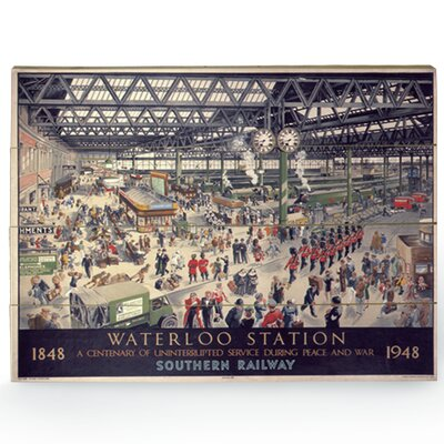 Art Group Waterloo Vintage Advertisement Plaque