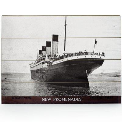 Art Group Titanic Photographic Print Plaque