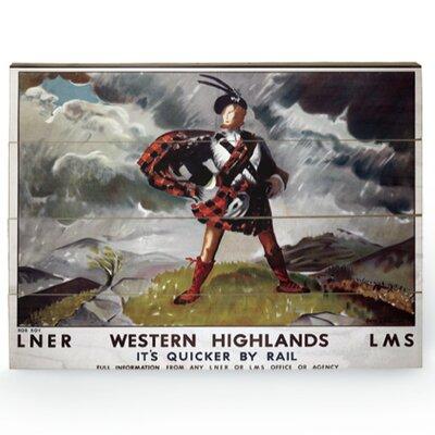 Art Group Western Highlands Vintage Advertisement Plaque
