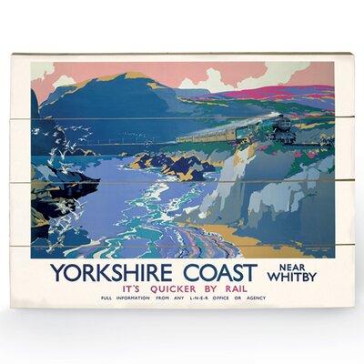 Art Group Yorkshire Coast Vintage Advertisement Plaque