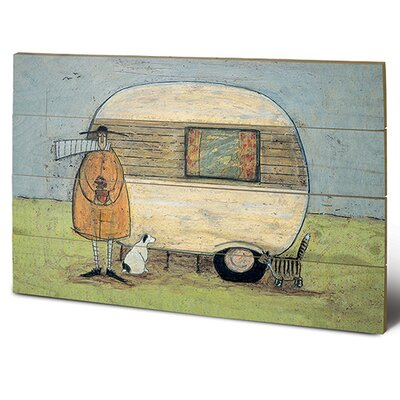 Art Group Home from Home by Sam Toft Art Print Plaque