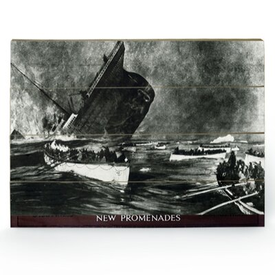 Art Group Titanic Photographic Print Plaque