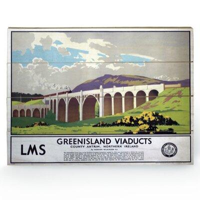 Art Group Greenisland Viaducts Vintage Advertisement Plaque