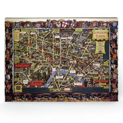 """Art Group London """"5"""" Graphic Art Plaque"""