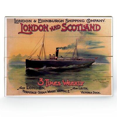 Art Group London Vintage Advertisement Plaque