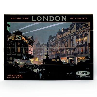 """Art Group London """"8"""" Vintage Advertisement Plaque"""