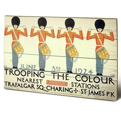 """Art Group London Transport """"2"""" Vintage Advertisement Plaque"""