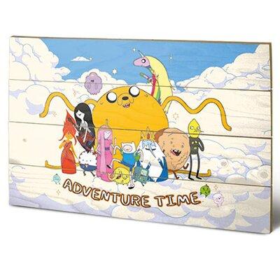 Art Group Adventure Time Cloud Vintage Advertisement Plaque