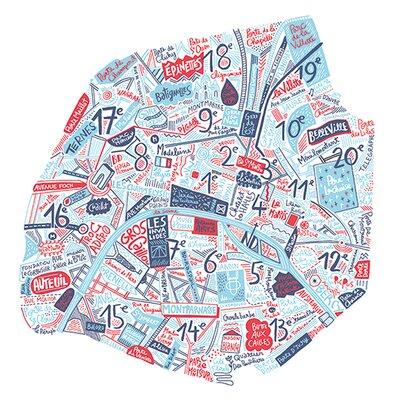 Art Group Paris by Benoit Cesari Graphic Art