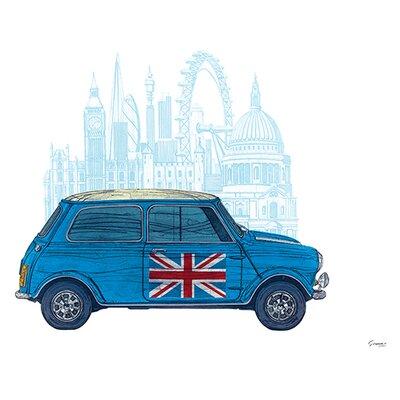 Art Group Mini London by Barry Goodman Graphic Art