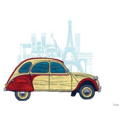 Art Group CV Paris by Barry Goodman Graphic Art