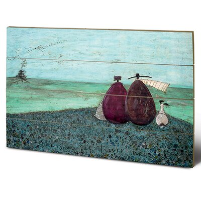 Art Group The Same as it Ever Was by Sam Toft Art Print Plaque