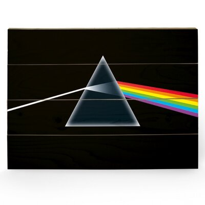 Art Group Pink Floyd Dark Side of the Moon Graphic Art Plaque