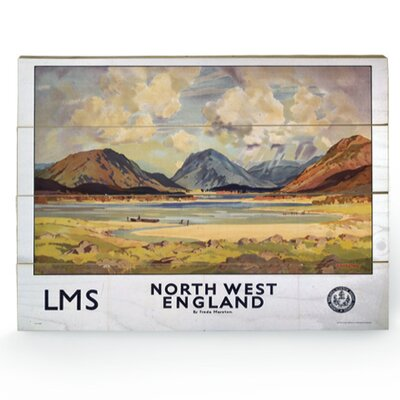 Art Group North West England Vintage Advertisement Plaque