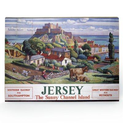 Art Group Jersey Vintage Advertisement Plaque