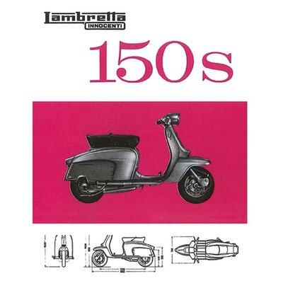 Art Group Lambretta - 150s Vintage Advertisement