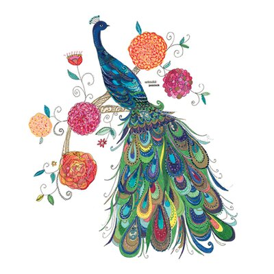 Art Group Splendid Peacock by Kim Anderson Art Print