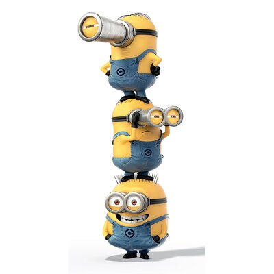 Art Group Despicable Me Stacked Canvas Wall Art