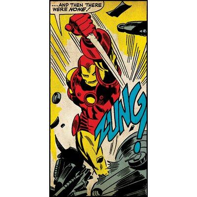 Art Group Iron Man Zung Canvas Wall Art