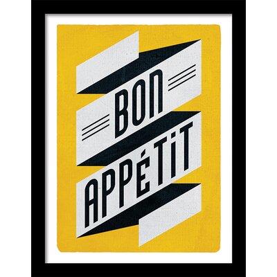 Art Group Bon Appetite by Edu Barba Framed Vintage Advertisement