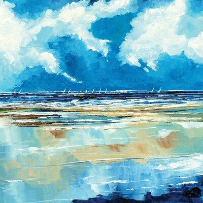Art Group Seascape II by Stuart Roy Canvas Wall Art