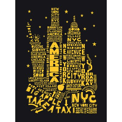 Art Group Citography - New York Typography Canvas Wall Art