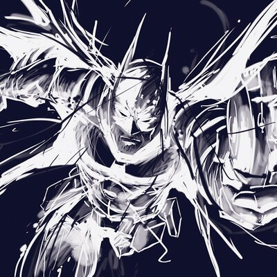 Art Group Batman Arkham Knight Grapple Canvas Wall Art