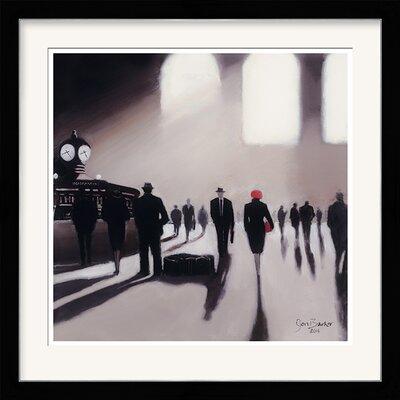 Art Group Grand Central Station Rendezvous by Jon Barker Framed Art Print