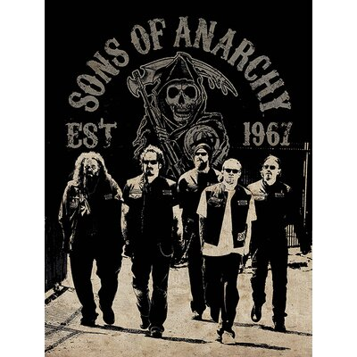 Art Group Sons of Anarchy - Reaper Crew Vintage Advertisement Canvas Wall Art