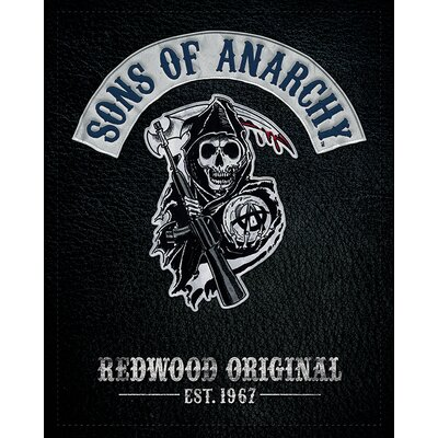 Art Group Sons of Anarchy - Cut Vintage Advertisement Canvas Wall Art