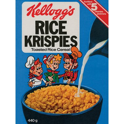 Art Group Kellogg's Rice Krispies - Classic Vintage Advertisement Canvas Wall Art