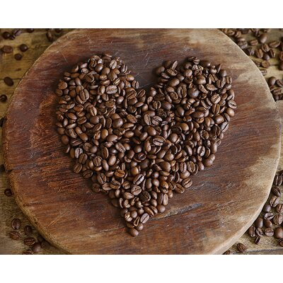 Art Group Love Coffee by Howard Shooter Canvas Wall Art