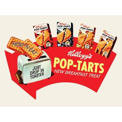 Art Group Kellogg's Pop Tarts - Arrow Vintage Advertisement Canvas Wall Art