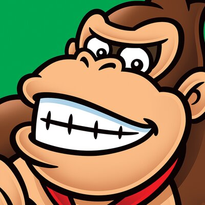 Art Group Super Mario Donkey Kong Canvas Wall Art