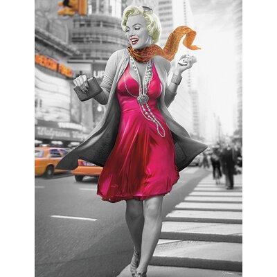 Art Group Jadei Graphics Monroe - New York Walk Canvas Wall Art