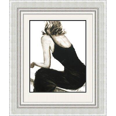 Art Group Little Black Dress II by Janel Eleftherakis Framed Art Print