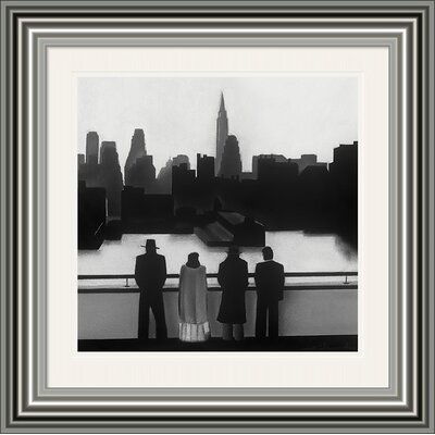 Art Group Skyline by David Cowden Framed Art Print