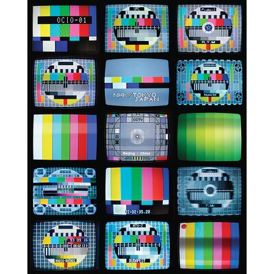 Art Group Late Night TV by Troy Litten Canvas Wall Art