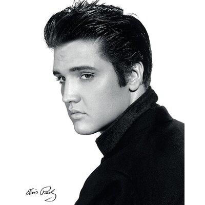 Art Group Elvis Portrait Canvas Wall Art