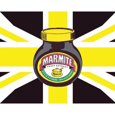 Art Group Marmite Union Jack Canvas Wall Art