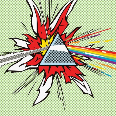 Art Group Pink Floyd Dark Side Of The Moon - Pop Canvas Wall Art