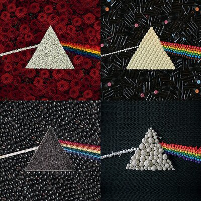 Art Group Pink Floyd Dark Side Of The Moon - Collections Canvas Wall Art