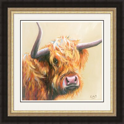 Art Group I Need A Haircut by Louise Brown Framed Art Print
