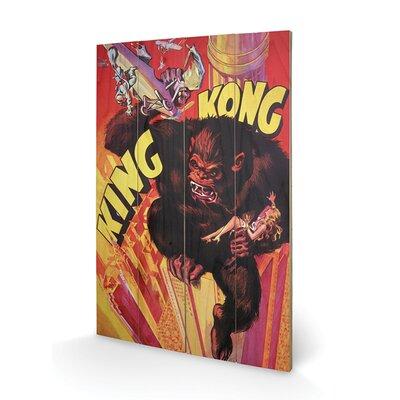 Art Group King Kong Grab Vintage Advertisement Plaque
