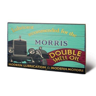 Art Group Shell Morris, 1928 Vintage Advertisement Plaque